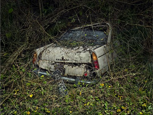 Красота старых и брошеных автомобилей