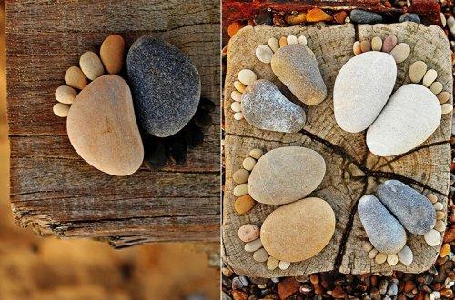 Фото на камнях идеи