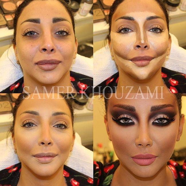 Секреты макияжа samer khouzami