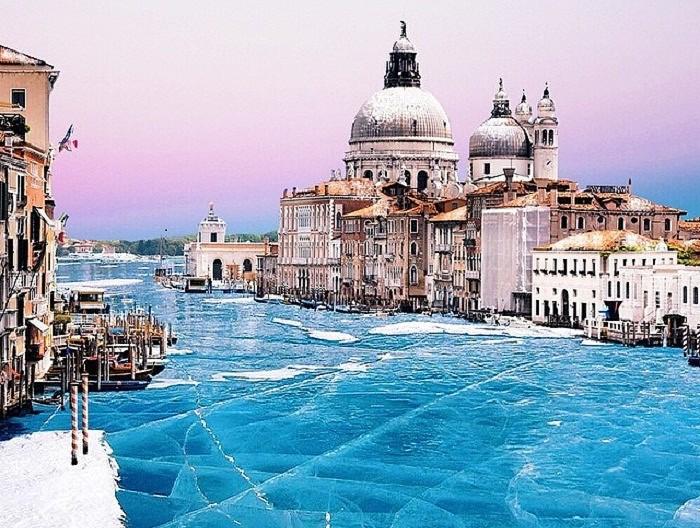 Как выглядит венеция