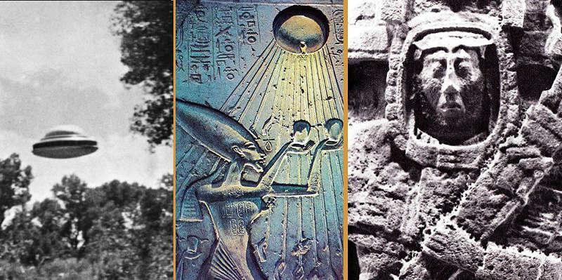 фотографии древних петроглифов с нло. древние внеземные божества.